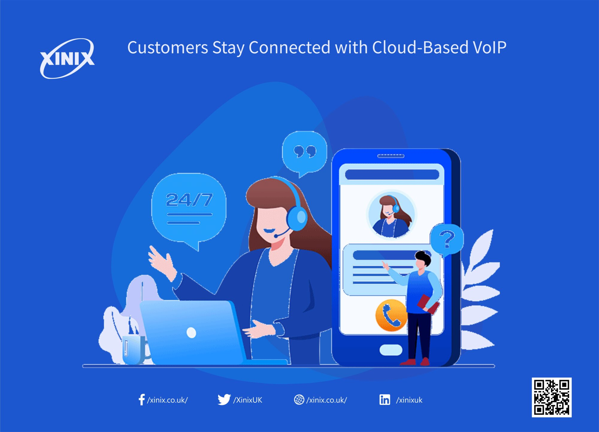Customers Stay Connected with Cloud-Based VoIP