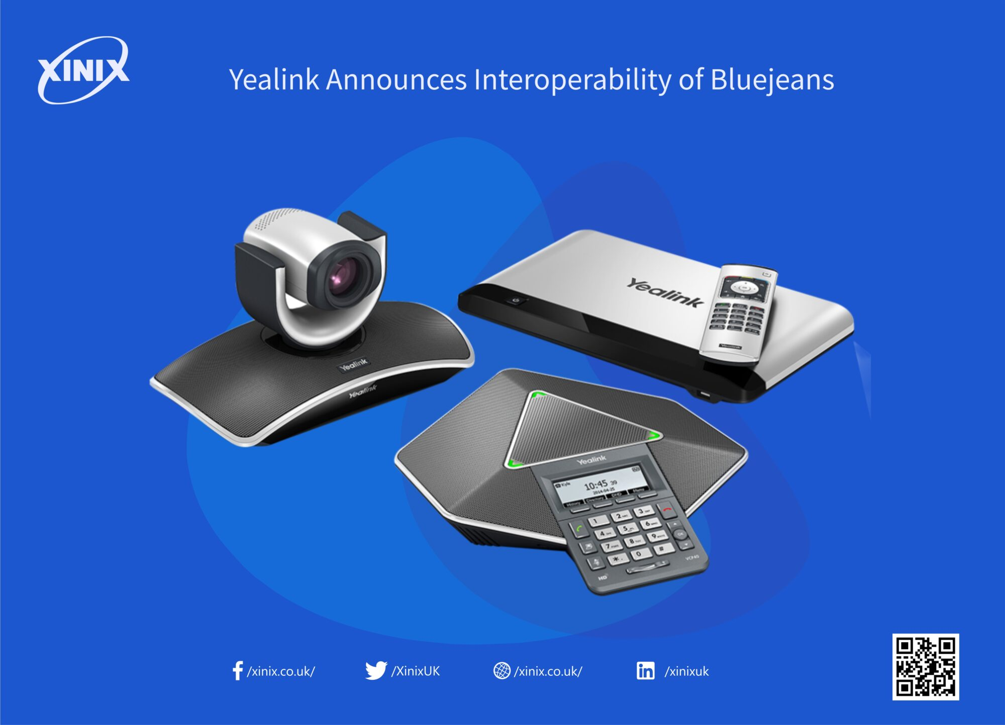 Yealink Announces Interoperability of Bluejeans