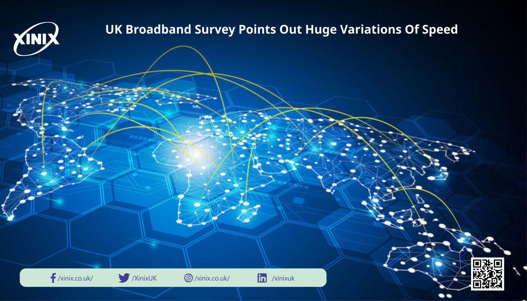 UK Broadband Survey Points Out Huge Variations Of Speed