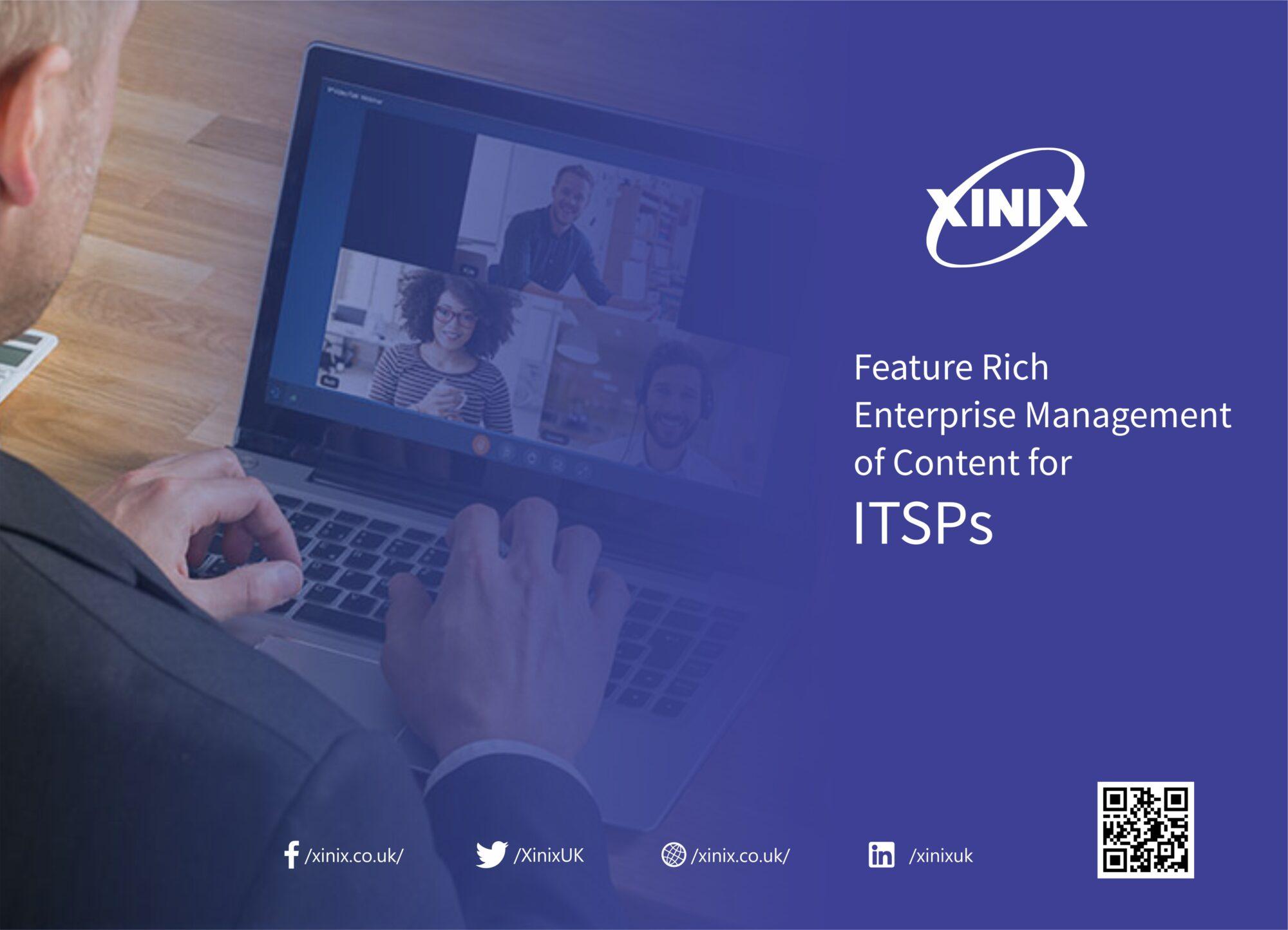 Feature Rich Enterprise Management of Content for ITSPs