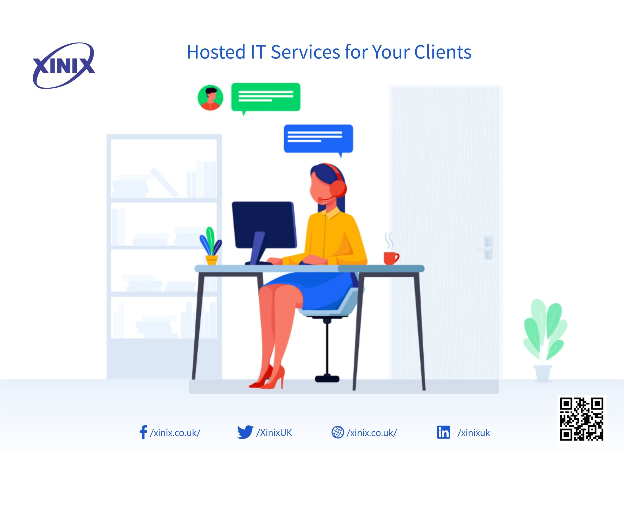 Hosted IT Services for Your Clients