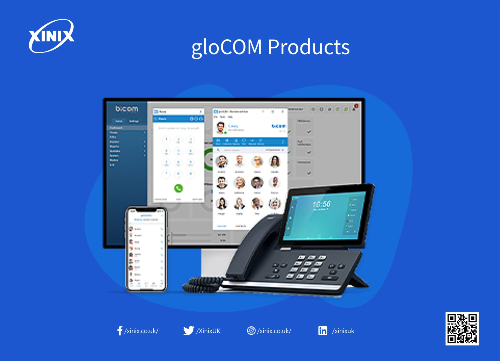 gloCOM Products