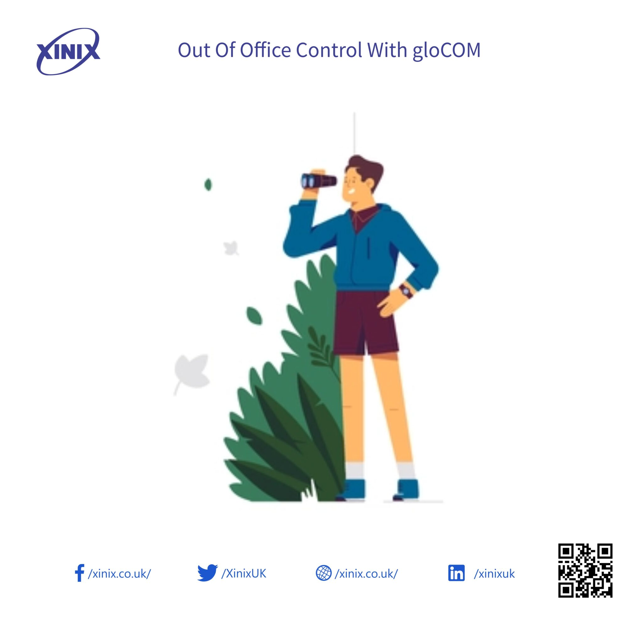 Out Of Office Control With gloCOM