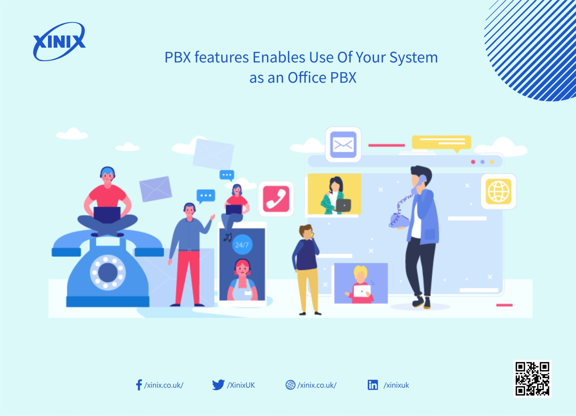 PBX features Enables Use Of Your System as an Office PBX
