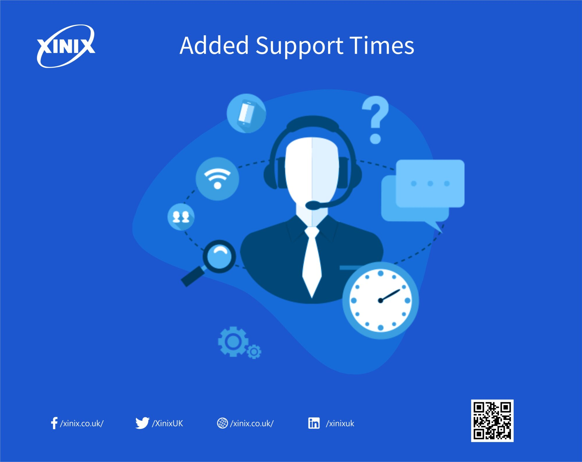 Added Support Time