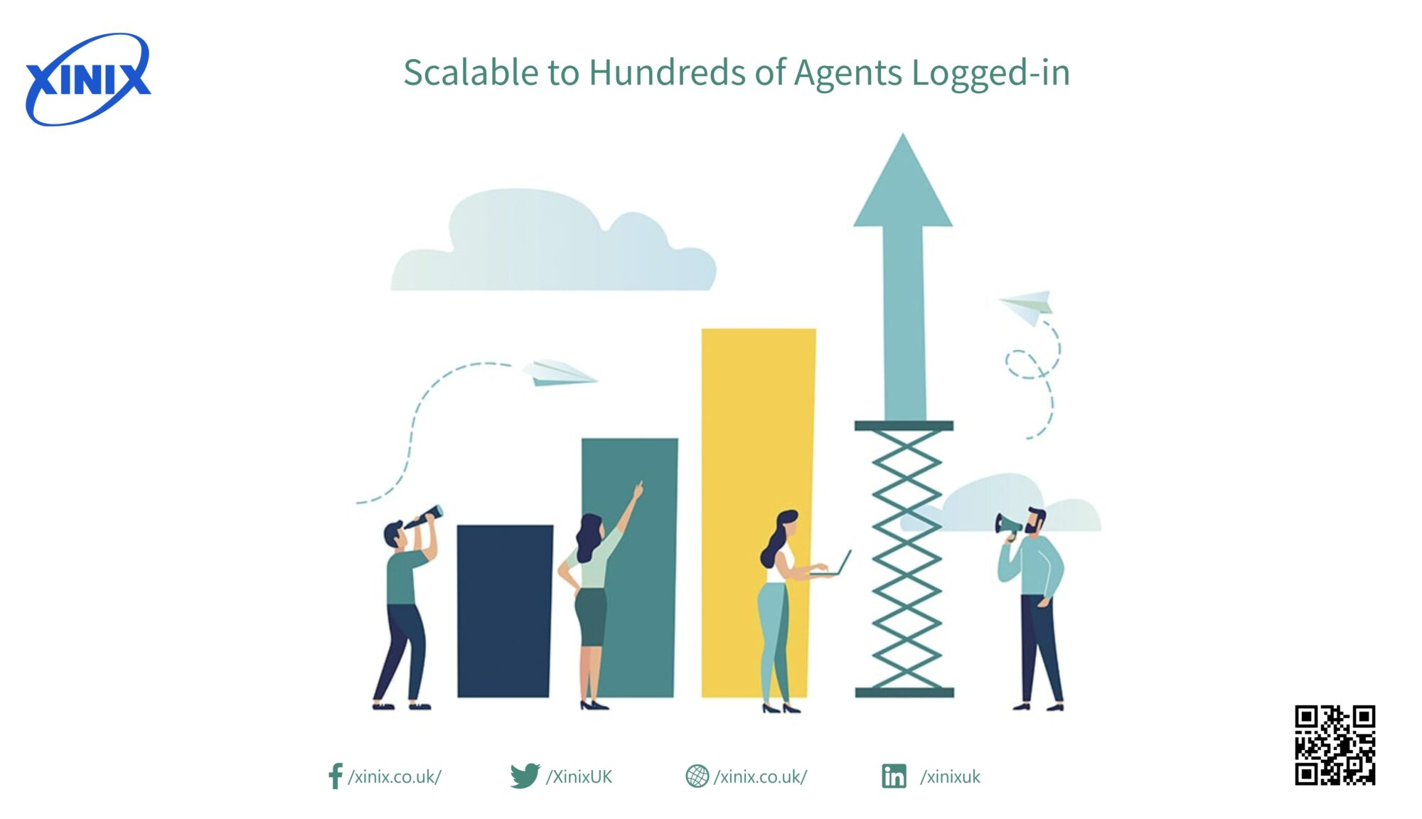 Scalable to Hundreds of Agents Logged-in