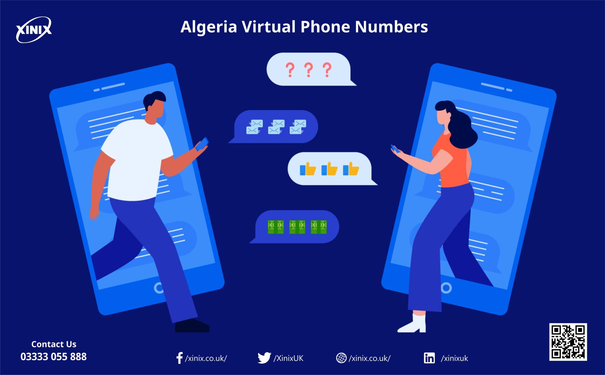 Algeria Virtual Phone Numbers