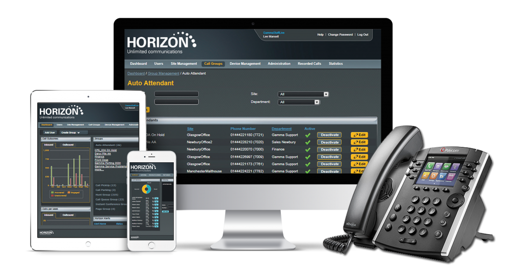 Creating Streamlined Communications And Software Services For Businesses Through Gamma Horizon 1024x537