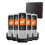 Gigaset N300IP & C430HX Five Handset Bundle