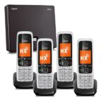 Gigaset N300IP and C430HX Four Handset Bundle