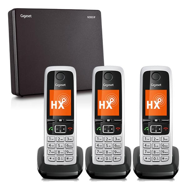 Gigaset N300IP and C430HX Three Handset Bundle