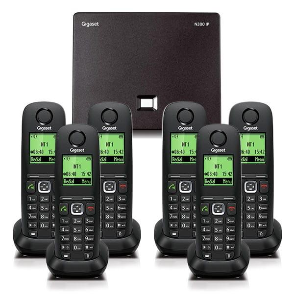N300IP and A540H handset bundle Six handset