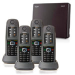 Gigaset N300IP with 4 R650H PRO Handsets