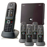 Gigaset N300IP with 5 R650H PRO Handsets