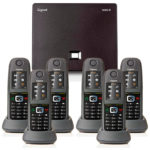 Gigaset N300IP with 6 R650H PRO Handsets