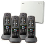 Gigaset N510IP with 4 R650H PRO Handsets