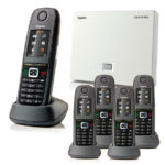 Gigaset N510IP with 5 R650H PRO Handsets