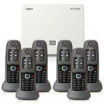 Gigaset N510IP with 6 R650H PRO Handsets
