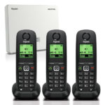 N510IP and A540H Handset Bundle – 3 Handset