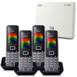 N510IP and S650H Handset Bundle 4 Handset