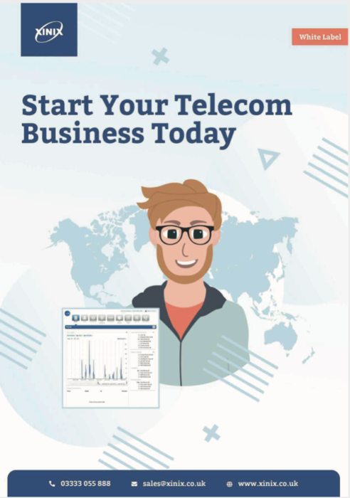 White Label VoIP Brochure Cover