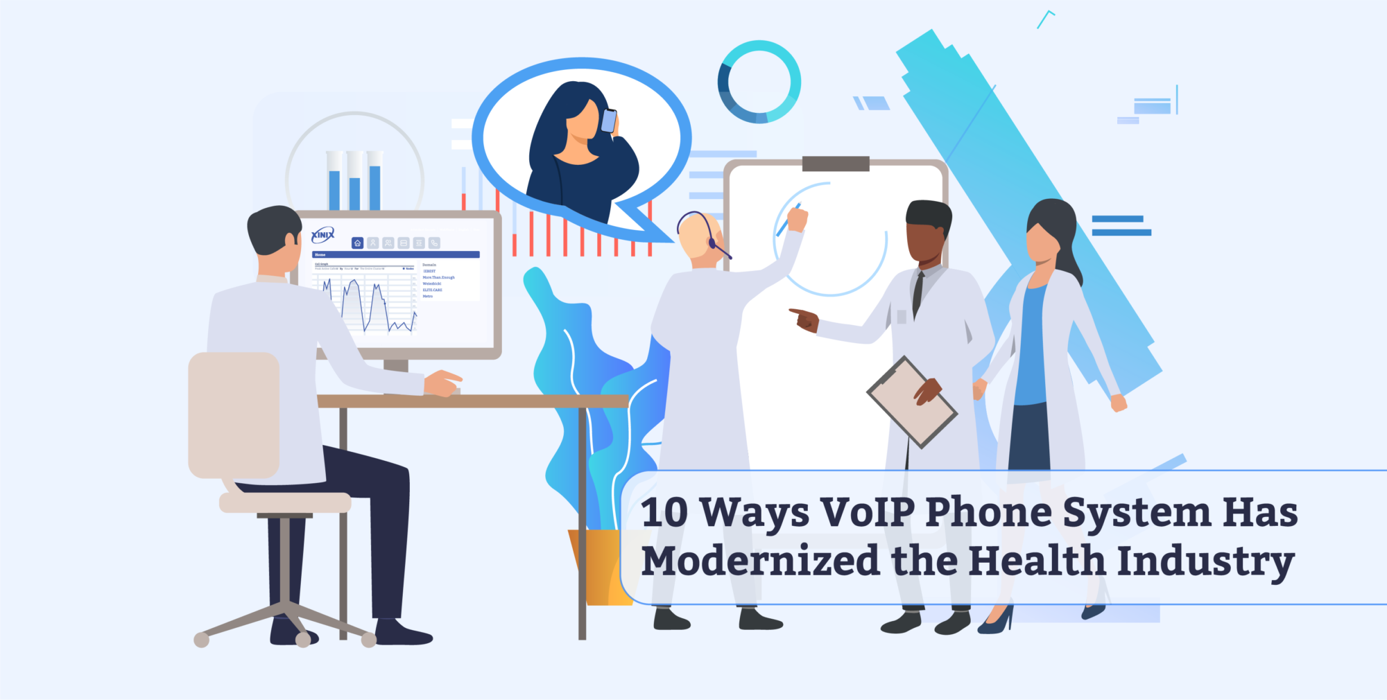 10 Ways VoIP Phone System Has Modernized the Health Industry