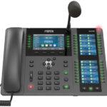 Fanvil X210i Reception Phone with Gooseneck Microphone