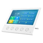 Fanvil i53w 7-inch colour touch screen SIP indoor station with 5 function buttons